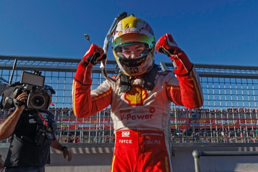 Scott McLaughlin pole position 2017 Bathurst 1000