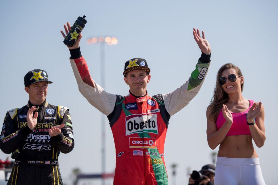 Scott Speed, 2017 Global Rallycross Champion