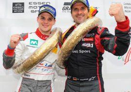 Dries Vanthoor and Markus Winkelhock