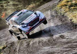 Wales Rally GB, Elfyn Evans Ford Fiesta WRC