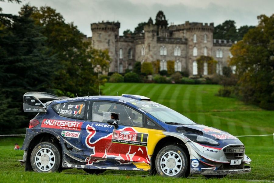 Sebastien Ogier and M-Sport are the world champions for 2017