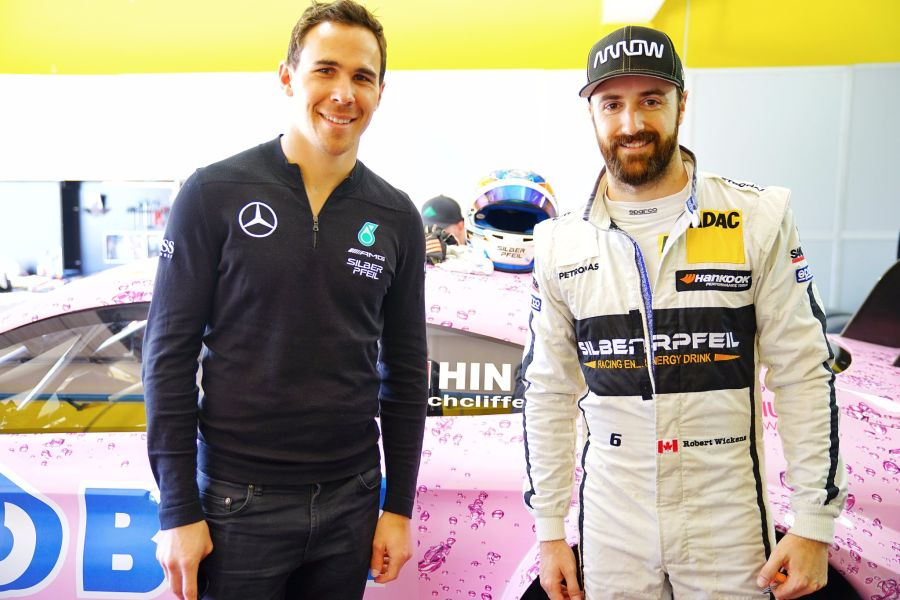 Robert Wickens and James Hinchcliffe - newteammates in the Schmidt Peterson Motorsports
