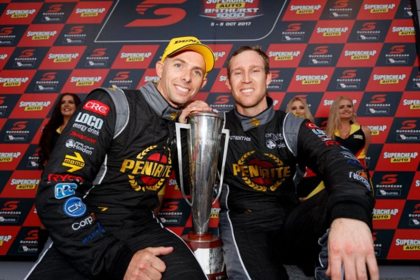 Luke Youlden and David Reynolds, 2017 Bathurst 1000 winners