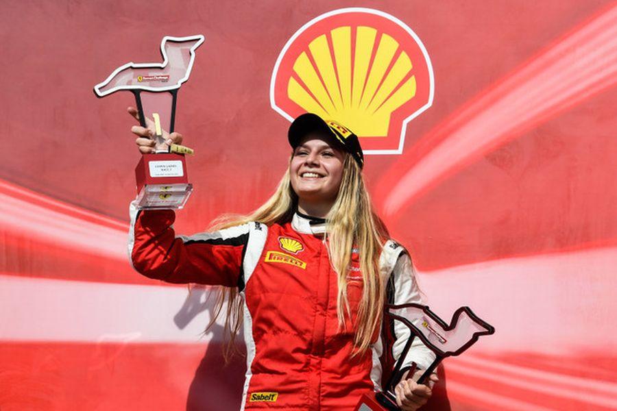 Fabienne Wohlwend Ferrari Challenge Europe