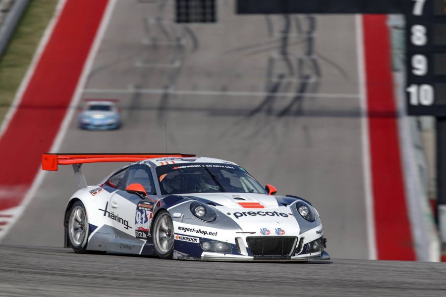 24 hours of COTA, Victorious #911 Porsche 911 GT3 R