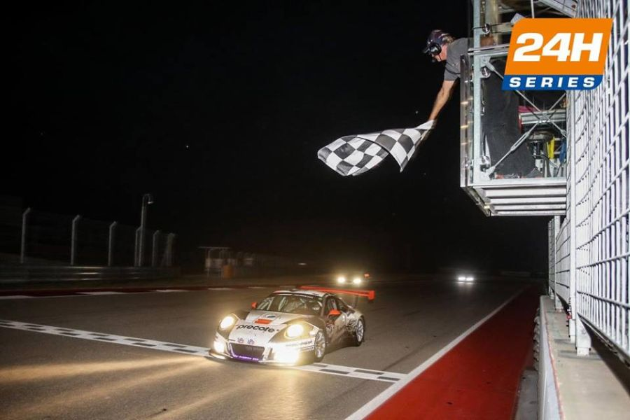#911 Herberth Motorsport Porsche wins at COTA
