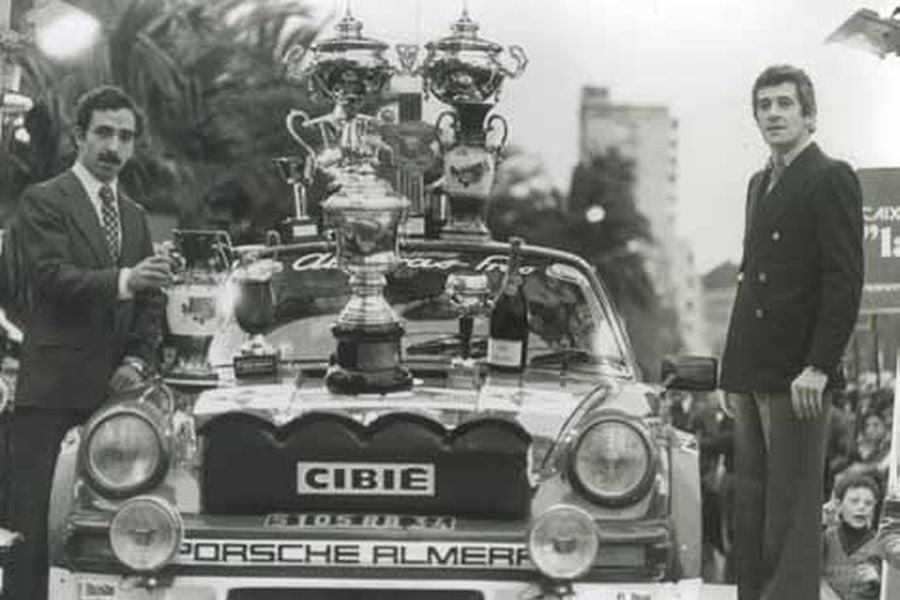 Antonio Zanini was the European rally champion in 1980