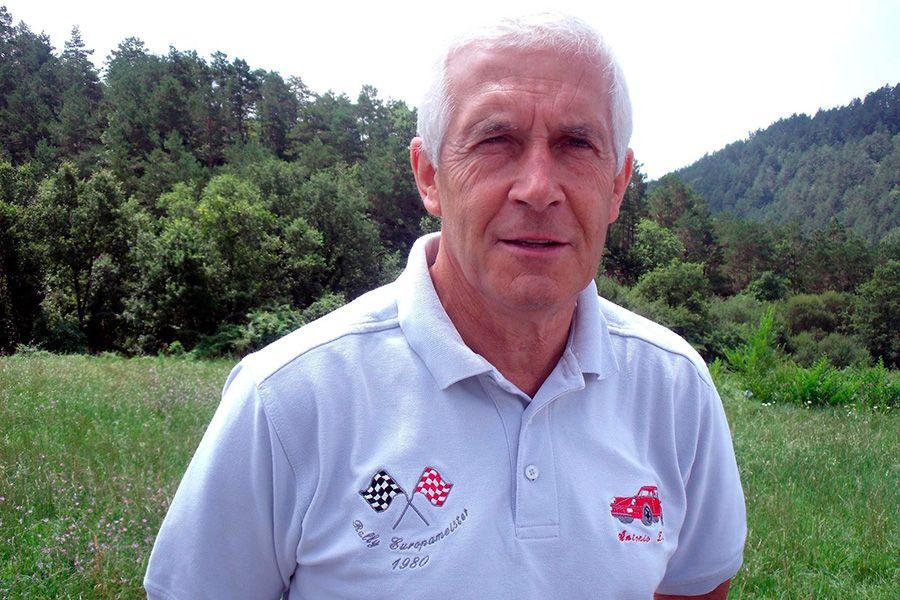 Spanish rally legend Antonio Zanini