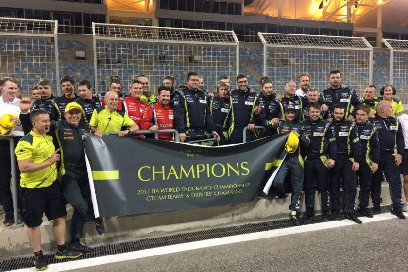 2017 FIA WEC, Aston Martin Racing