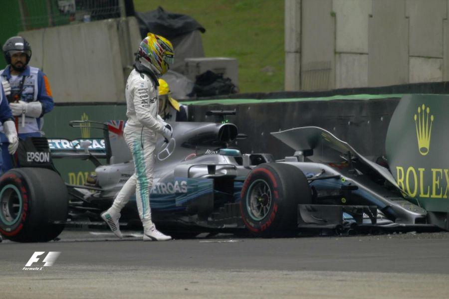 Lewis Hamilton, Brazilian Grand Prix qualifying