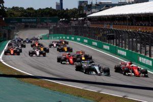 Brazilian Grand Prix, start