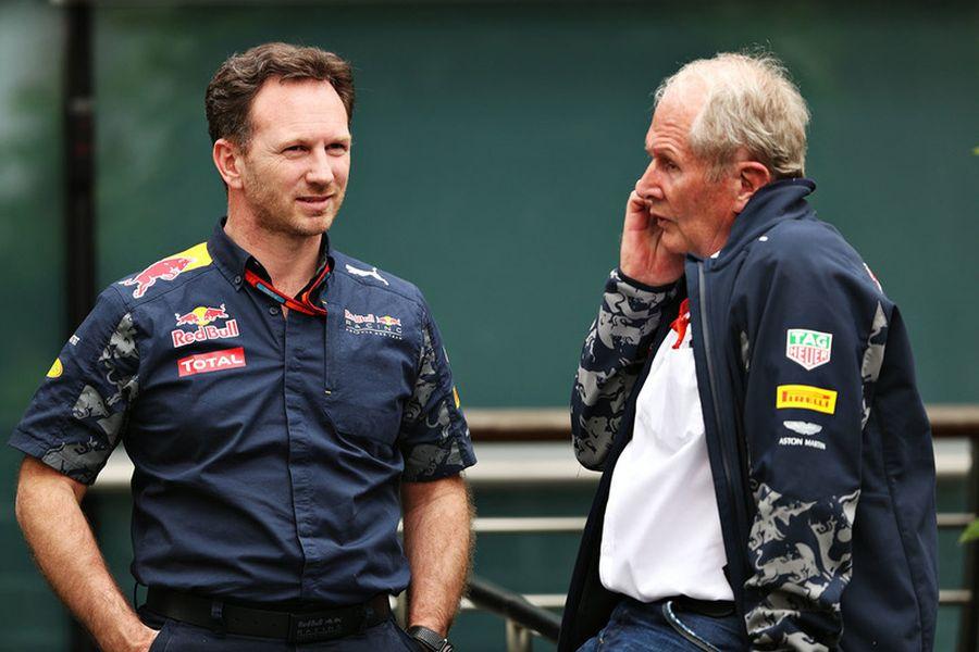 Christian Horner and Helmut Marko work together since 2005