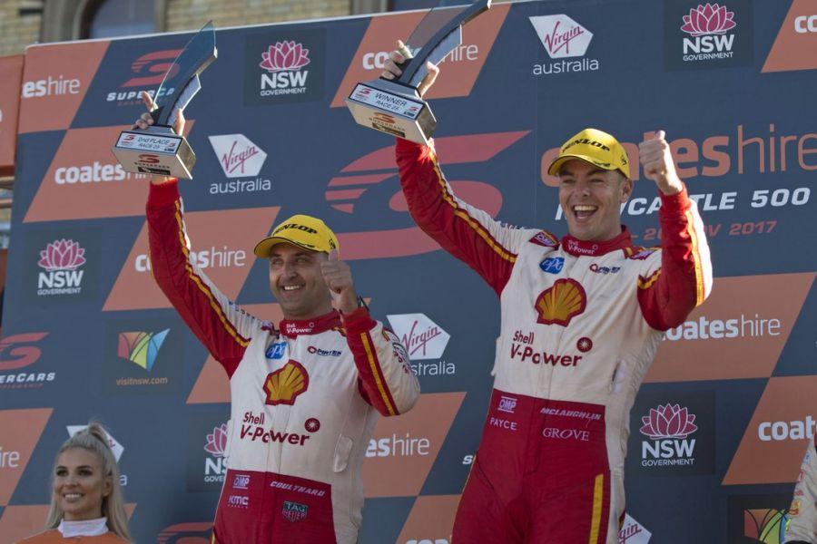 Fabian Coulthard, Scott McLaughlin, DJR Team Penske