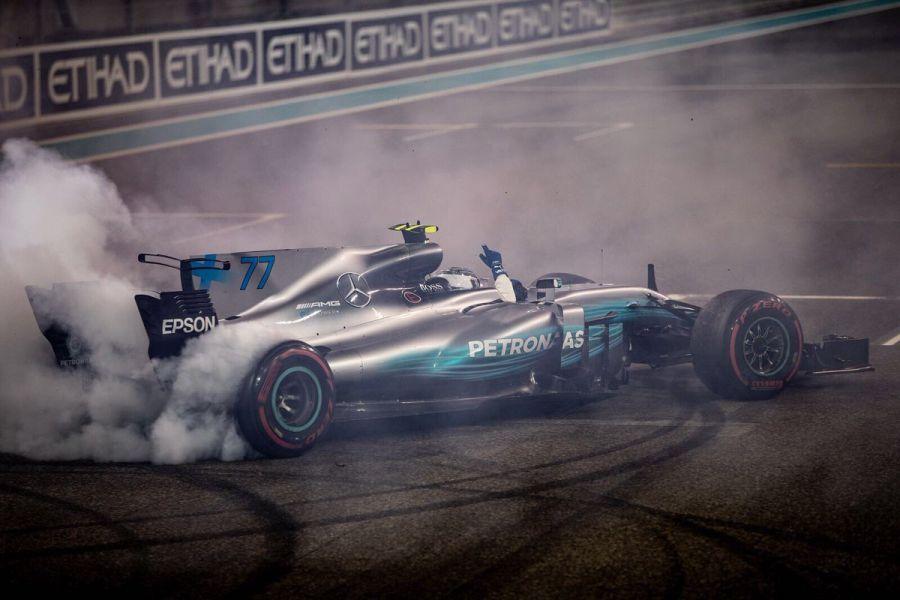 Valtteri Bottas wins Abu Dhabi Grand Prix