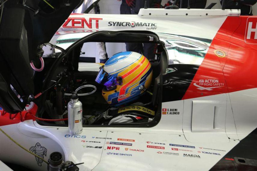 FIA WEC Rookie Test, Toyota, Fernando Alonso