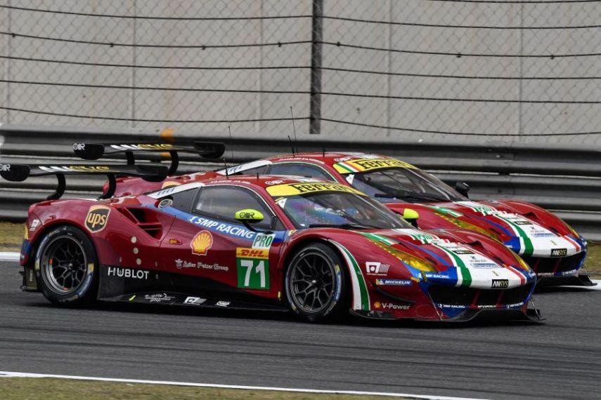 2017 FIA WEC, Ferrari