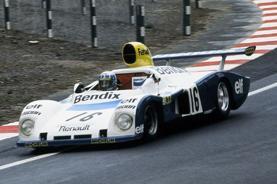 Guy Frequelin was driving the #16 Alpine A442 at 1977 Le Mans 24 Hours