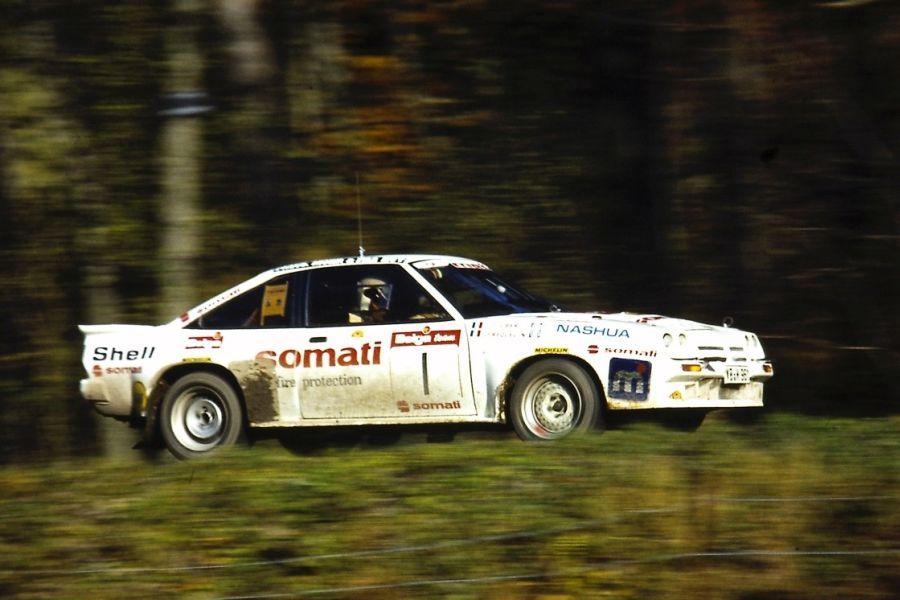 Guy Frequelin's Opel Manta in 1985