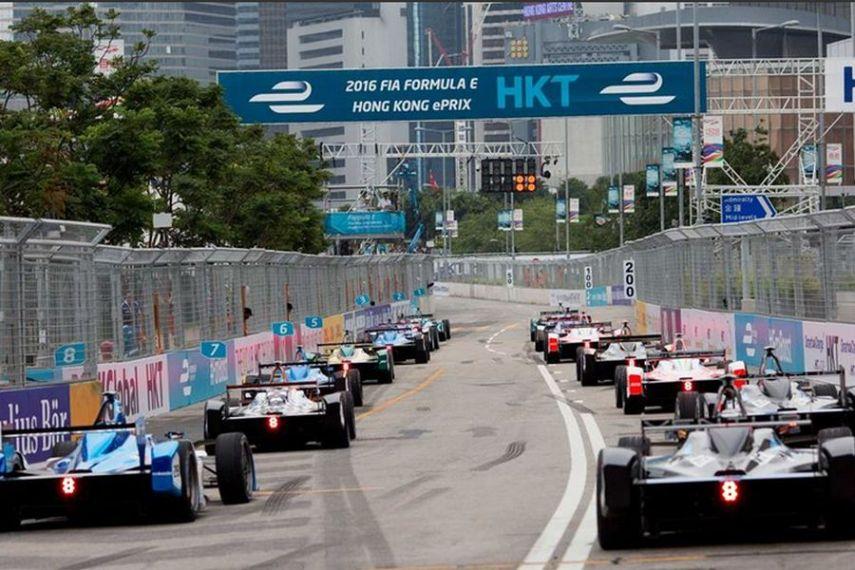 Sebastien Buemi has won the 2016 Hong Kong ePrix