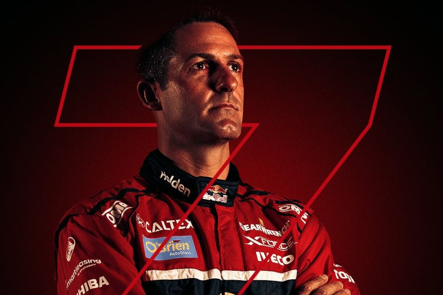 Jamie Whincup seven-time V8 Supercars champion