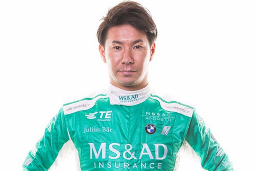 Japanese sponsor and Japanese driver in the Andretti FE team
