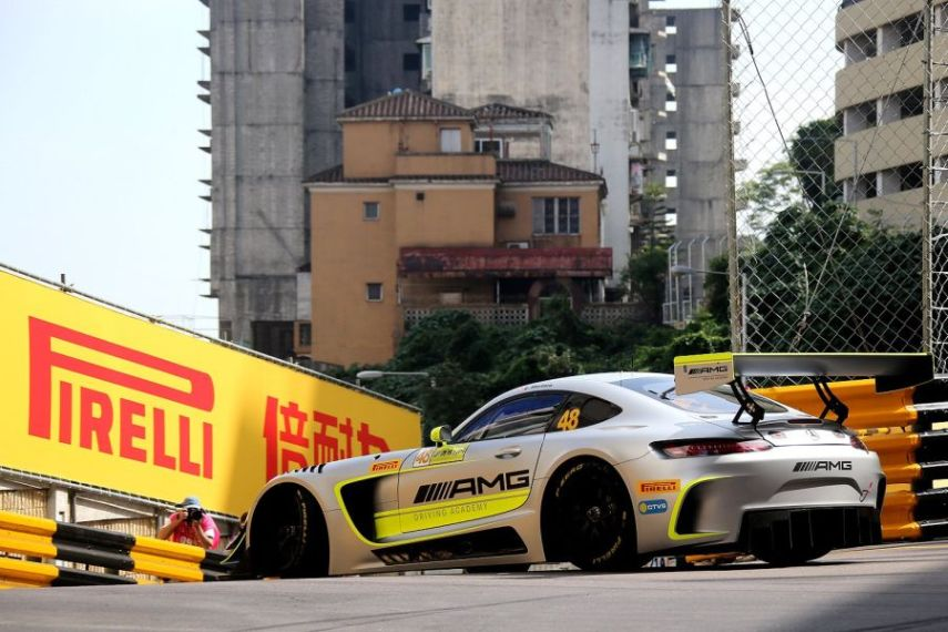 FIA GT World Cup Macau, Edo Mortara wins