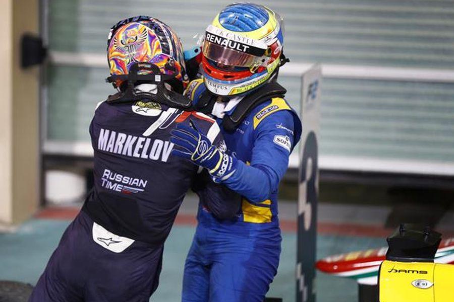 Artem Markelov, Formula 2 Abu Dhabi