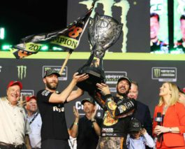 Martin Truex Jr. is the 2017 Monster Energy NASCAR Cup Series champion