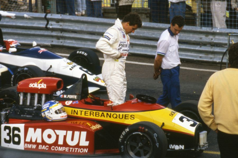 Michel Ferte in the 1988 F3000 season