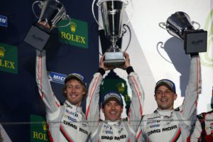 Porsche LMP Team, #2 Porsche 919 Hybrid, 2017 FIA WEC champions, Brendon Hartley, Timo Bernhard, Earl Bamber