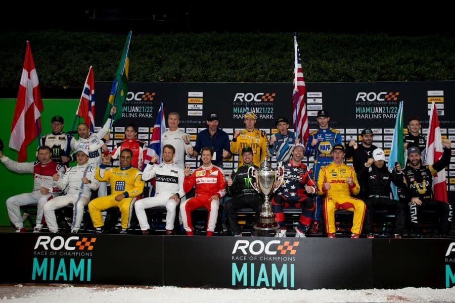 The previous ROC event was held at Miami's Marlin Park