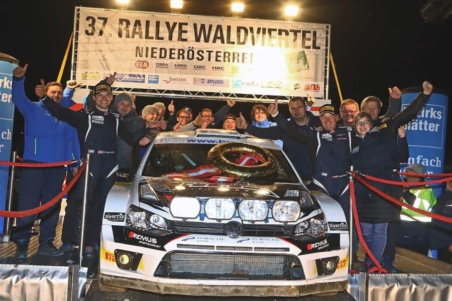 Raimund Baumschlager, VW Polo R WRC