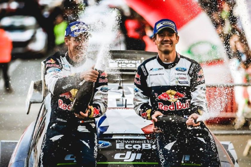 Julien Ingrassia and Sebastien Ogier