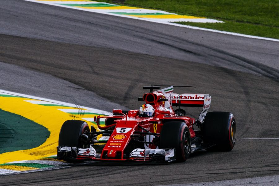 Sebastian Vettel Brazilian Grand Prix