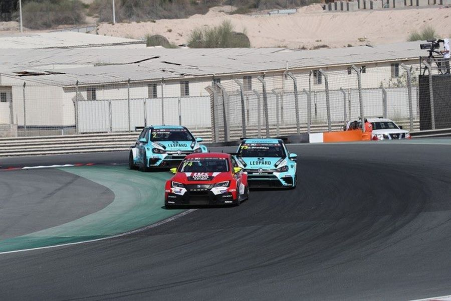 Pepe Oriola scored his second win of the season at Dubai Autodrome