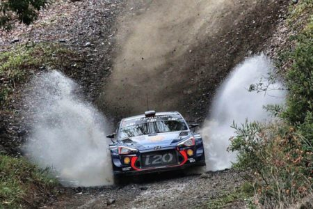 Thierry Neuville Hyundai, 2017 Rally Australia