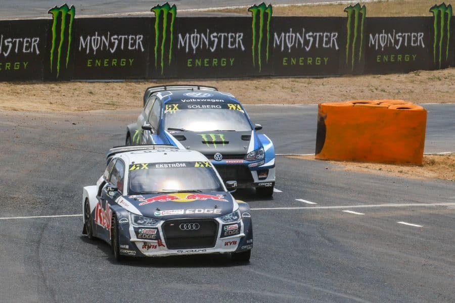 World RX South Africa, Mattias Ekstrom, Petter Solberg