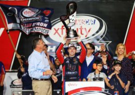 William Byron, 2017 NASCAR Xfinity Series champion