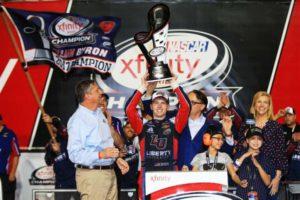 William Byron, 2017 NASCAR Xfinity Series champion
