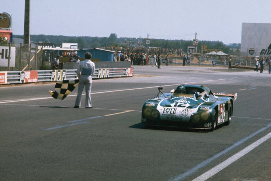 Alain de Cadenet and Chris Craft reached Le Mans podium in the #12 De Cadenet Lola T380