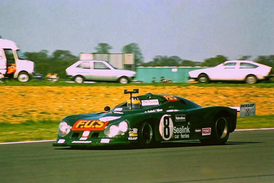 Alain de Cadenet and Desire Wilson triumphed at 1980 Silverstone 6 Hours in the #8 De Cadenet Lola LM