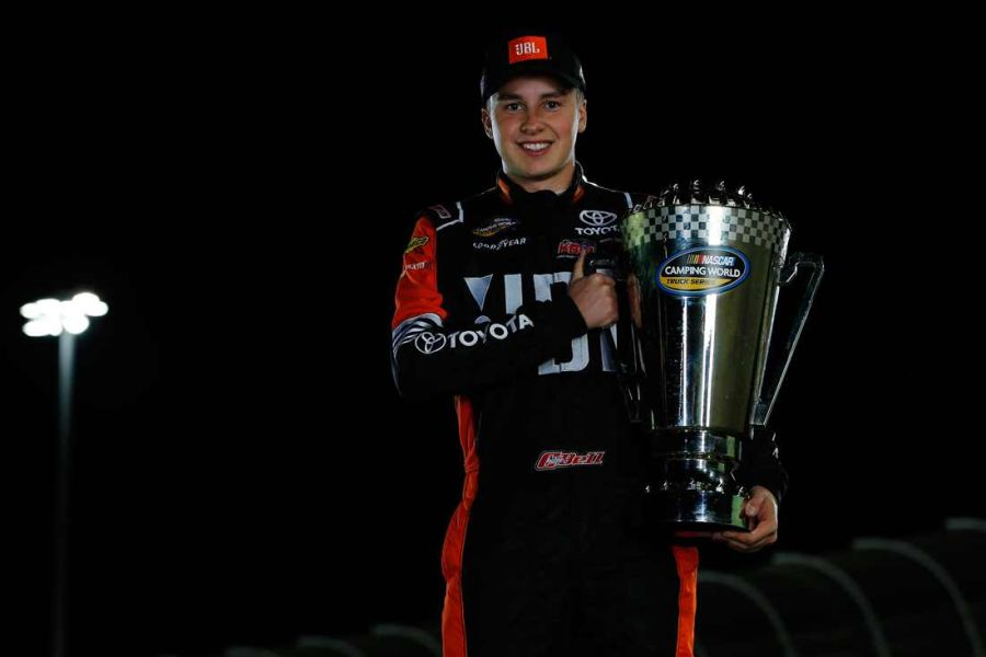 Christopher Bell 2017 Truck Series champion