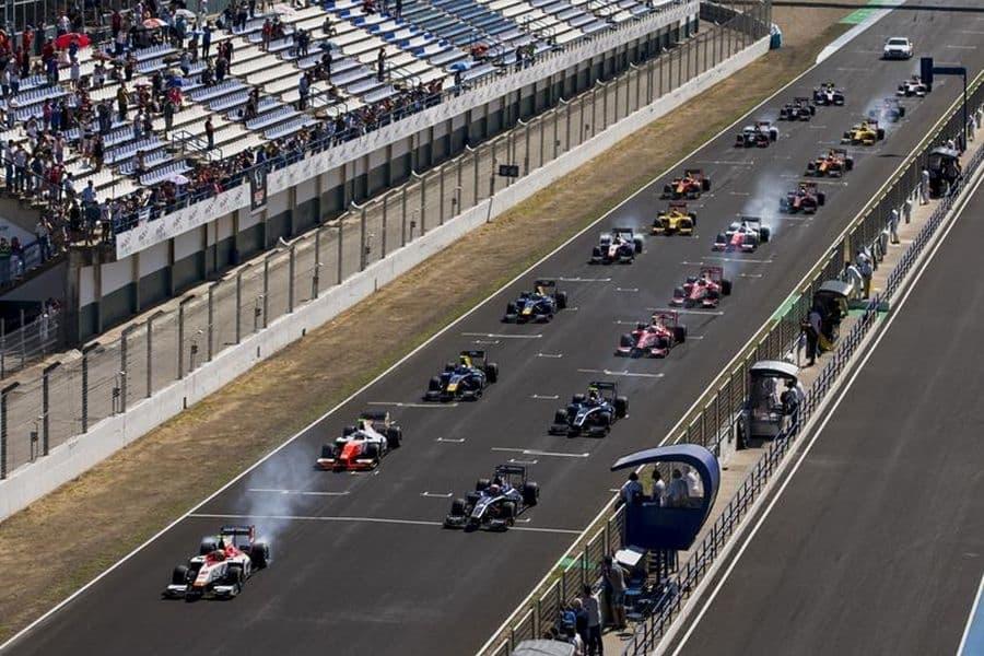 FIA Formula 2 Championship grid