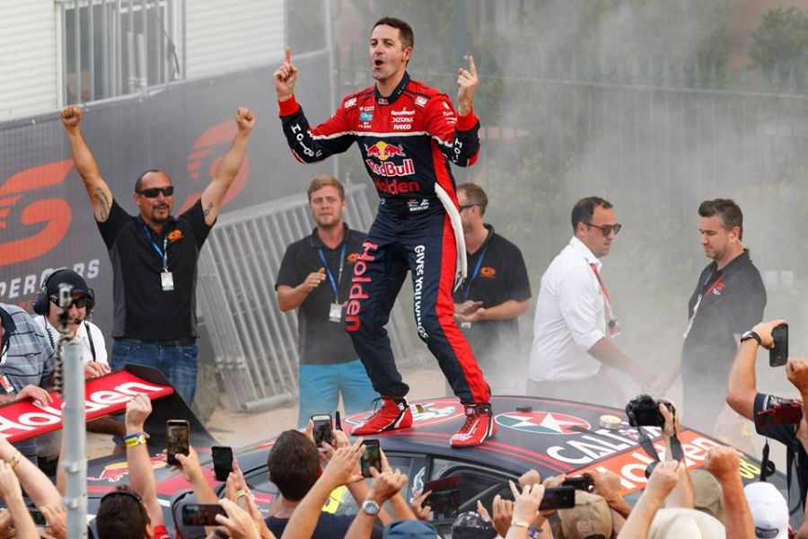 Jamie Whincup 2017 V8 Supercars champion