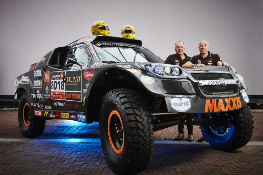 Tim and Tom Coronel, 2018 Dakar Rally