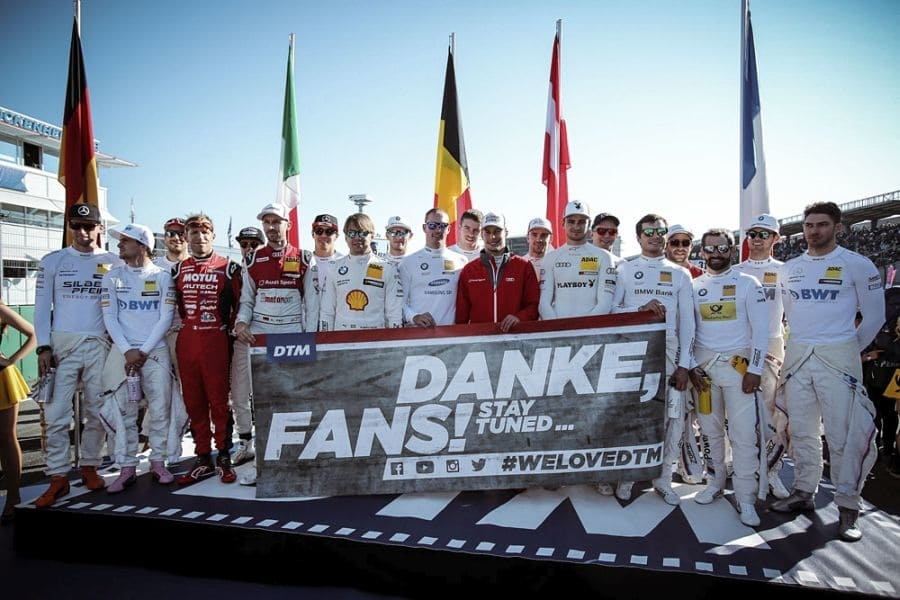 DTM drivers will visit UK and Italy in 2018