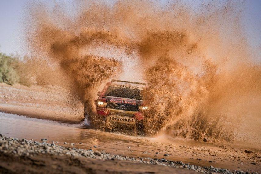 Dakar Rally preview Toyota Hilux Nasser Al-Attiyah