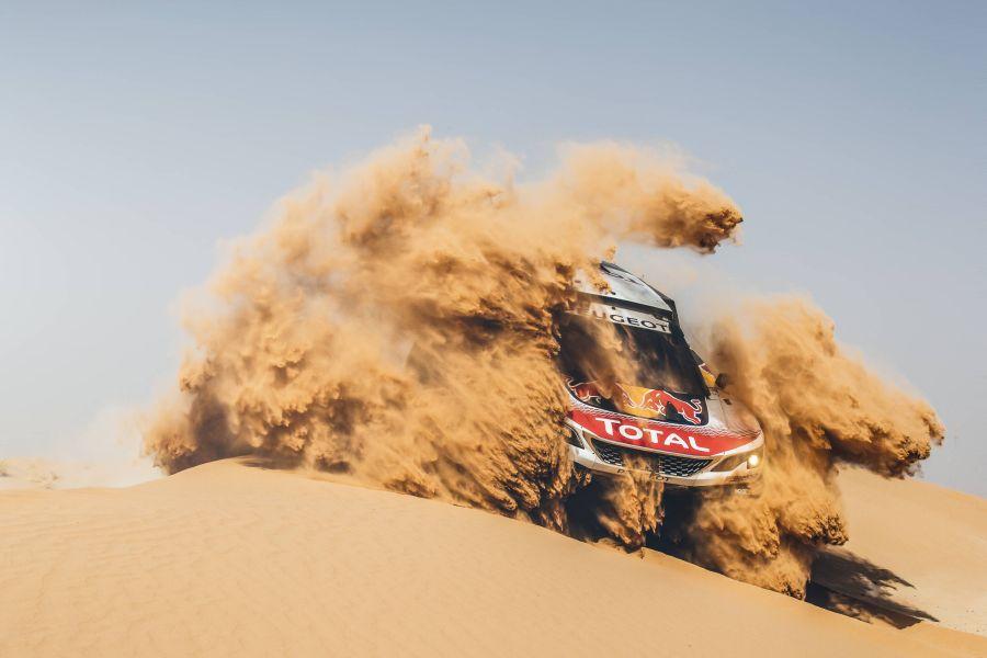 Dakar Rally preview Team Peugeot Total Stephane Peterhansel