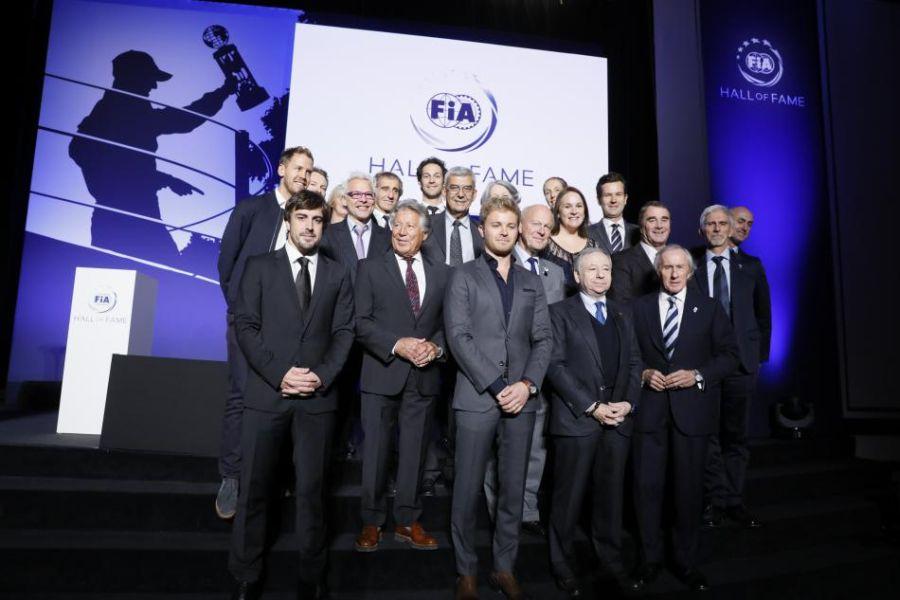 FIA Hall of Fame inauguration celebration
