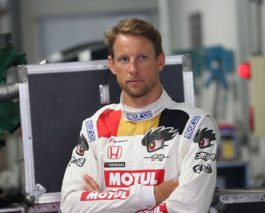 Jenson Button announces a future in the Japanese Super GT Series